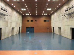 中ホール 舞台から客席